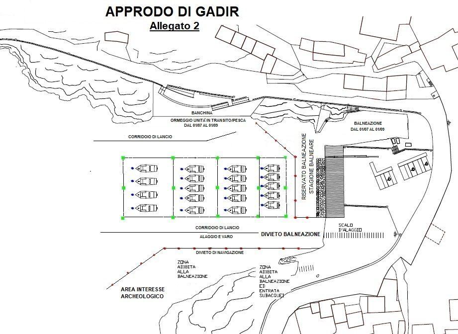 Gadir Pantelleria  corridoi di lancio