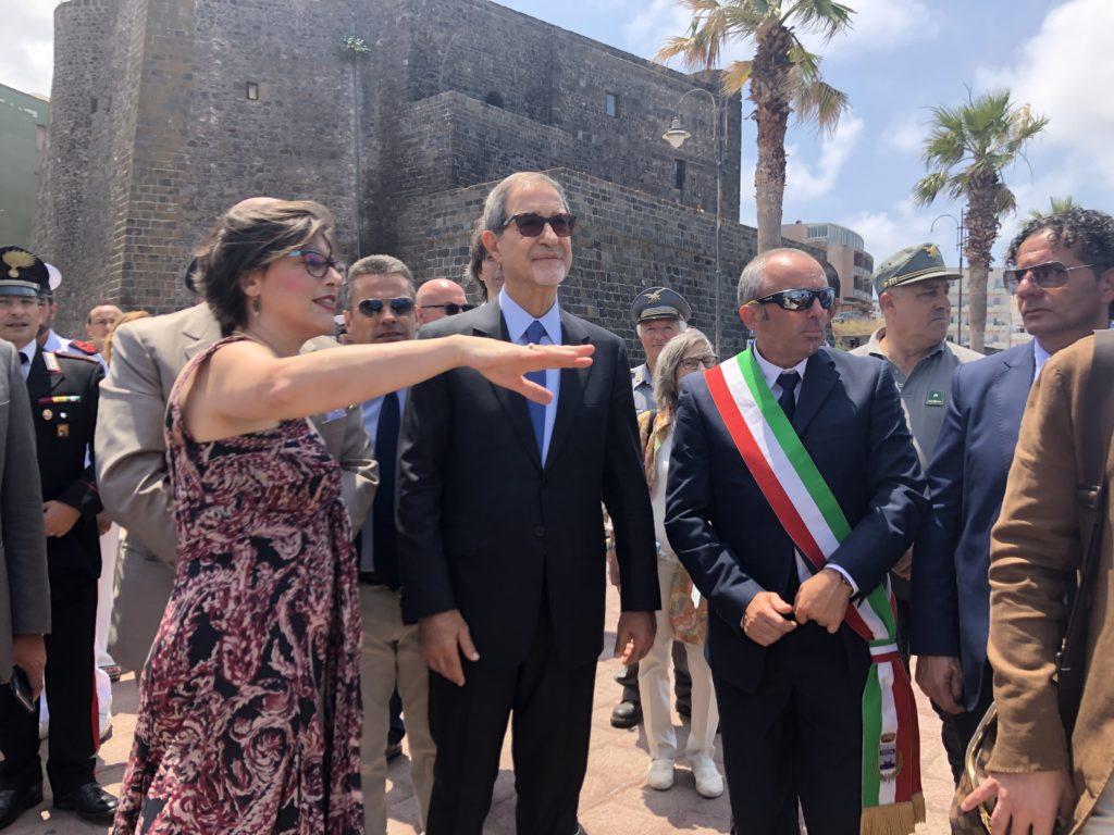 Della GAtta, Musumeci, Sindaco Campo Pantelleria