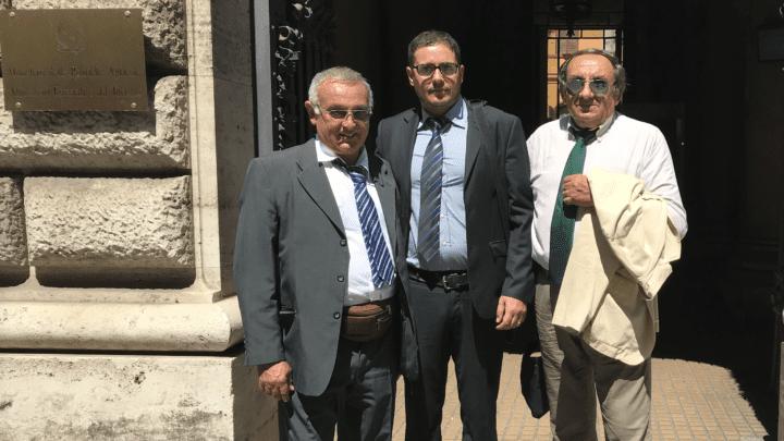 Lega Pantelleria Nicolò Barraco, Federico tremarco e Michele Tremarco