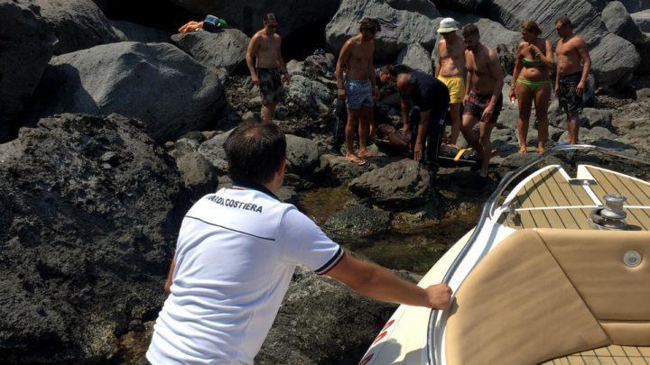 salvataggio guardia costiera pantelleria cala cinque denti