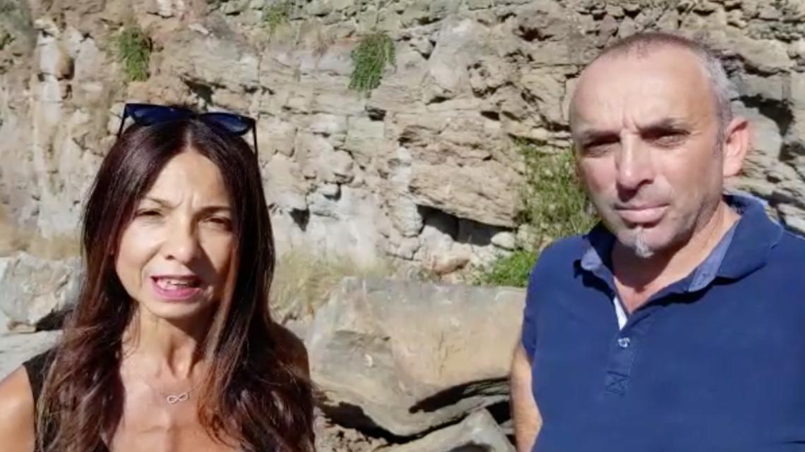 campo schillaci sciopero pantelleria lago di venere protesta