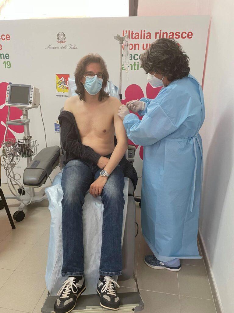 L'Assessore Angelo Parisi si è vaccinato lo scorso 6 maggio