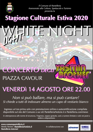 Locandina WHITE NIGHT LIGHT
